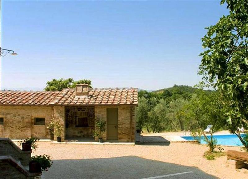 Guest house view of the Podere Vignolia - Podere Vignolia - San Giovanni d'Asso - rentals