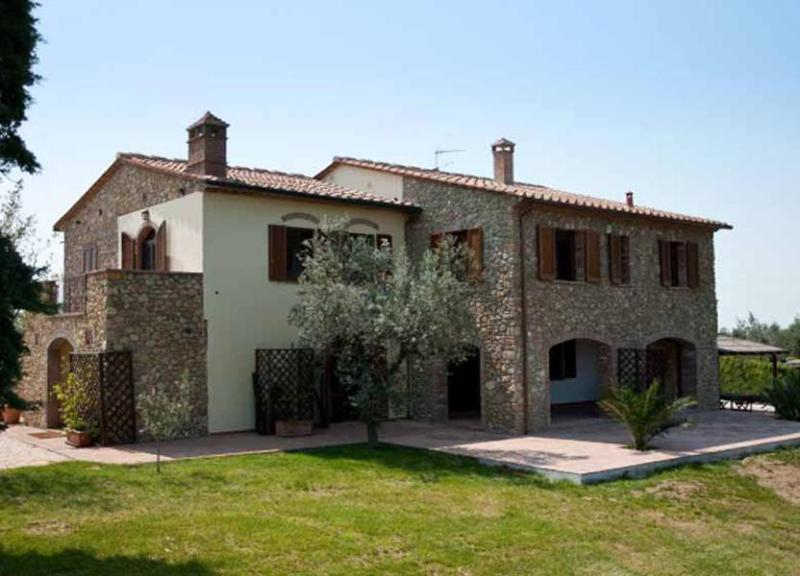 Over view of Pisa Farmhouse - Villa Oasis - Guardistallo - rentals
