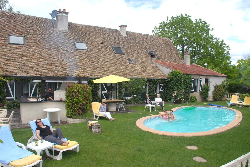 maison et jardin - 5 star 18 th-century house near Beaune in Burgundy - Beaune - rentals