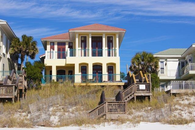 The Bash: beach front luxury home in The Beaches of South Walton. - UP TO 20% OFF The Bash: Gulf Front, Spa, Sleeps 19 - Miramar Beach - rentals
