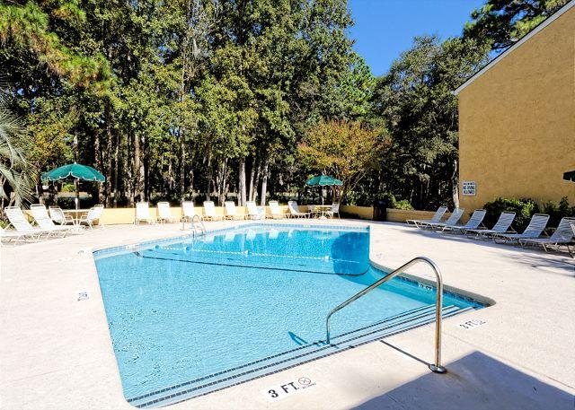 Village House Pool - Beautiful 2BR/2BA Villa, Just Minutes from the Beach and is Simply Terrific - Hilton Head - rentals
