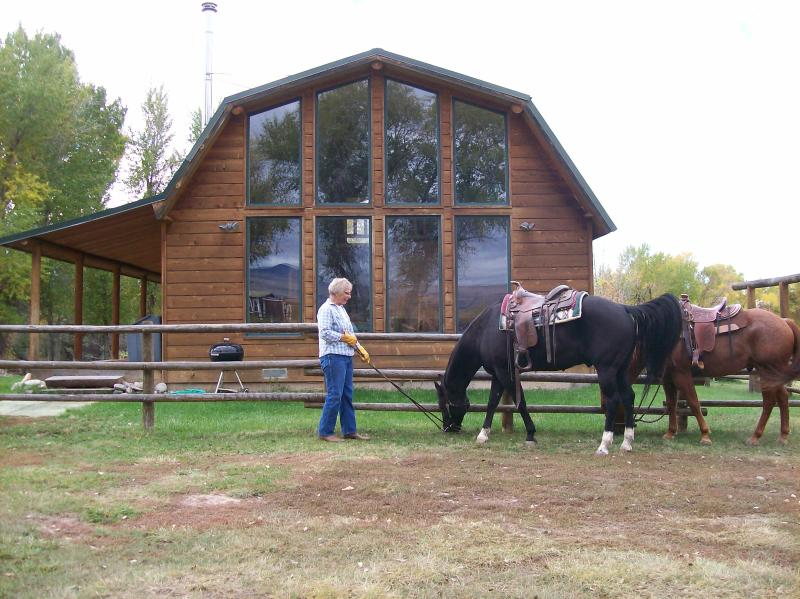 Activities abound in this lovely setting.  Horseback riding, fishing, hiking...... - Paint Rock Cabin - Hyattville - rentals