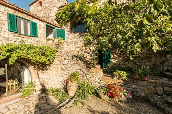 Exquisitely restored farmhouse in the heart of Chianti Classico. SAL CPL - Image 1 - Chianti - rentals