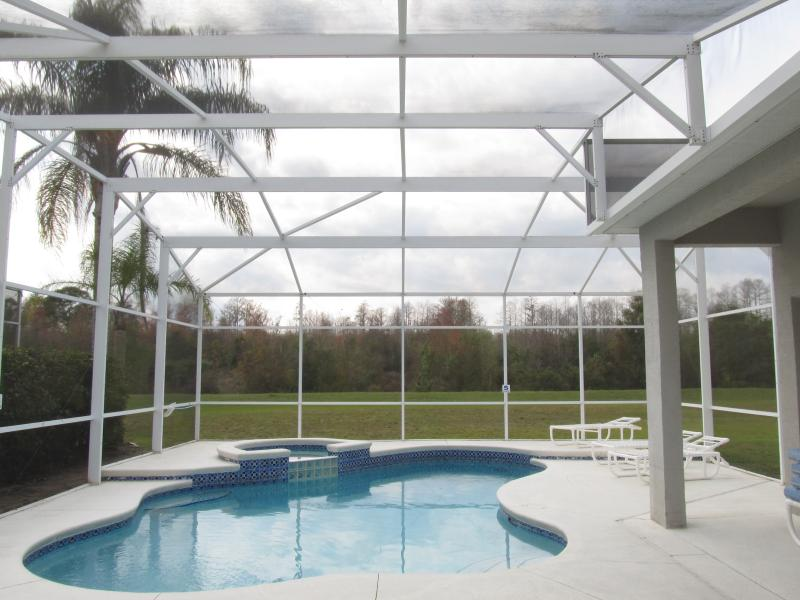 Private pool overlooking conservation, no rear neighbors - Highlands Reserve Golf community Luxury 4 Bed Home - Davenport - rentals