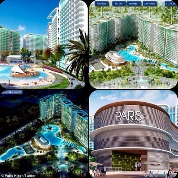 Azure Paris Hilton Beachfront Condo 1 BR furnished - Image 1 - Paranaque - rentals
