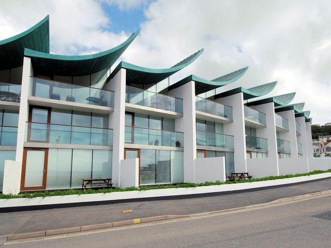View towards these contemporary apartments - NPEBB - Westward Ho - rentals