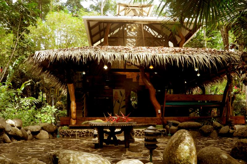 The Dream Palm House has two floors and has a palm leaves roof. It has a surface of 85 sqm - Dream Palm House @ congo-bongo - Puerto Viejo de Talamanca - rentals