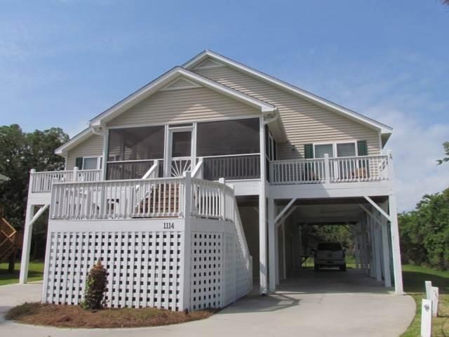 "1114 Byrd St - ""Sight Unseen"" - Image 1 - Edisto Beach - rentals"