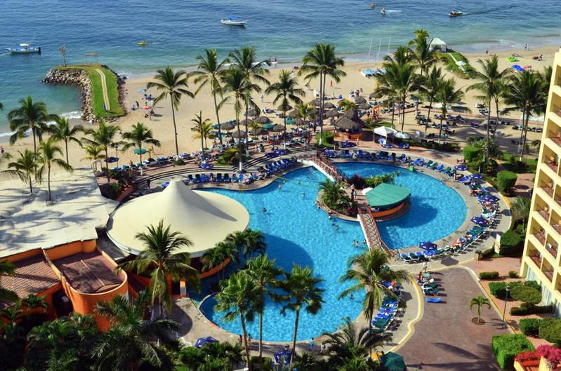 SRT1540 - Beautiful 15th floor views - Oceanfront 1 BR - Wonderful beach+Great pool(1540) - Puerto Vallarta - rentals