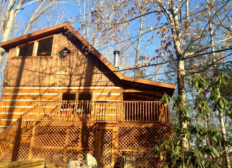 Exterior of Bear Meade (side view) - Bear Meade - Townsend - rentals