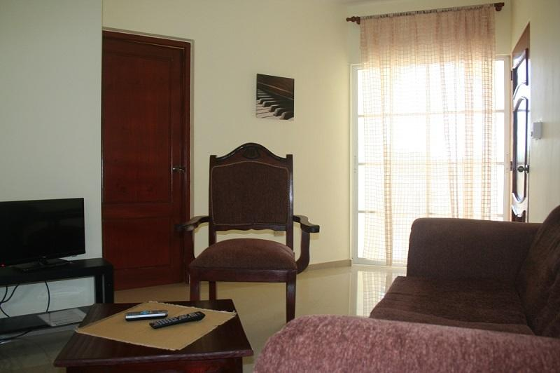 Living room - Beach one-bedroom apartment with a/c #12 - Puerto Plata - rentals