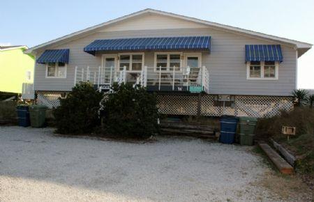 Exterior Streefront - Big Pelican- East - Emerald Isle - rentals