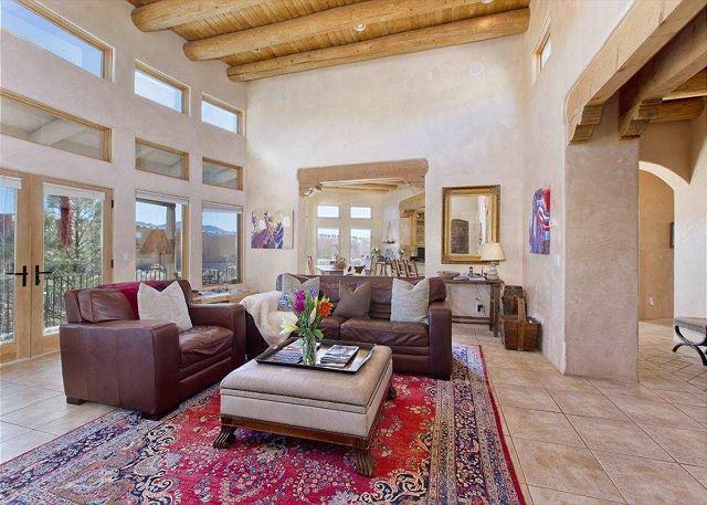 Award Winning Design! 1+ mile to Plaza, unique architecture, and fine decor - Image 1 - Santa Fe - rentals