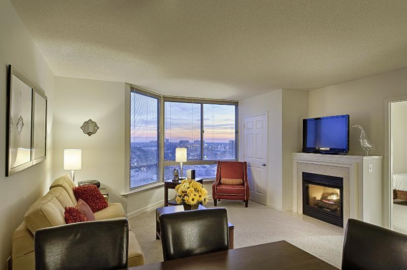 Living Room - Wash DC Area Executive 2-Bedroom/2-Bath Apartment - Arlington - rentals