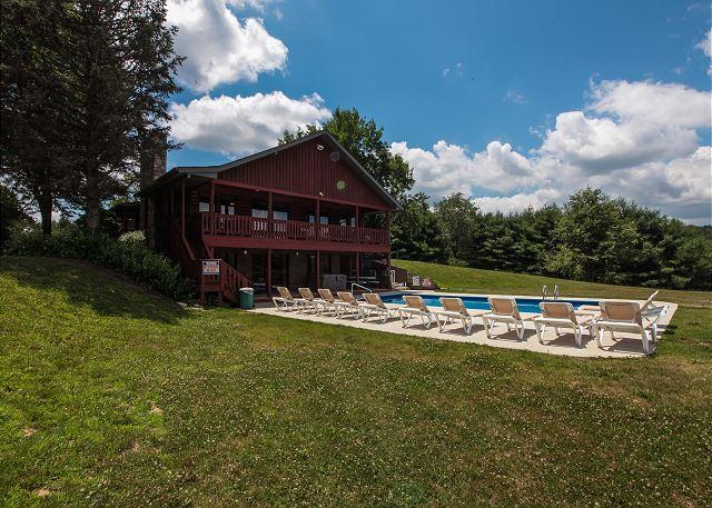 Hocking Hills Hilltop Lodge Rental - Image 1 - Laurelville - rentals