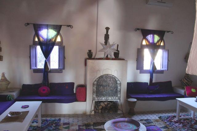 Living room - Riad Saf Saf - Merzouga - rentals