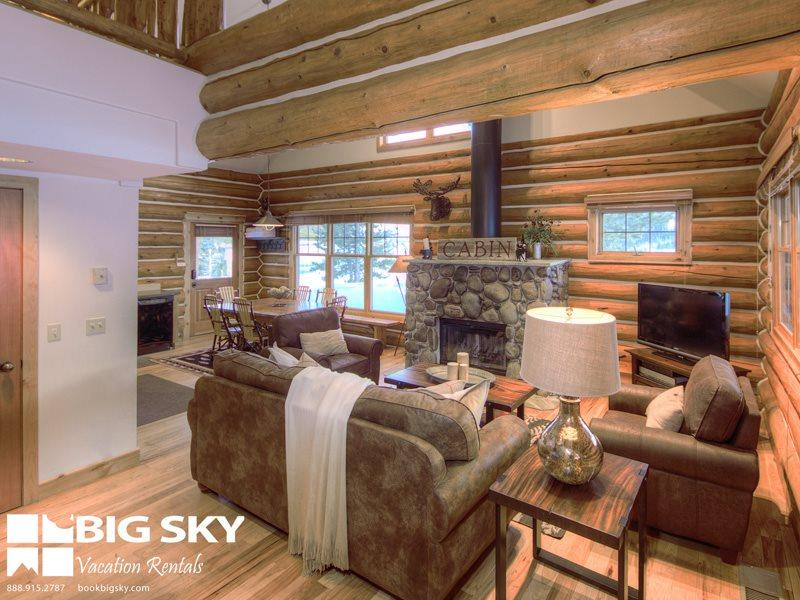 Powder Ridge Moose Ridge (Cabin 7) - Image 1 - Big Sky - rentals
