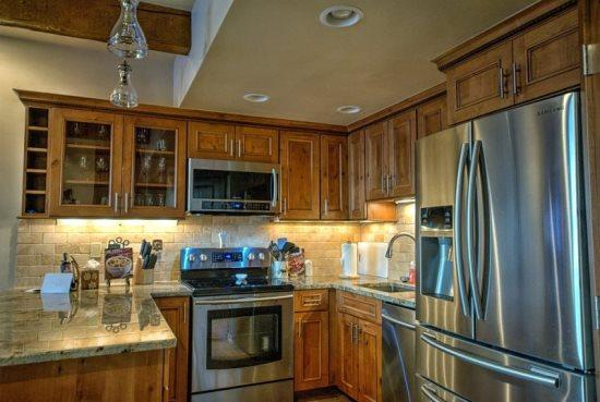 Completely Remodeled kitchen - Stainless Steel Appliances, Granite Countertops - Storm Meadows C217 - Steamboat Springs - rentals