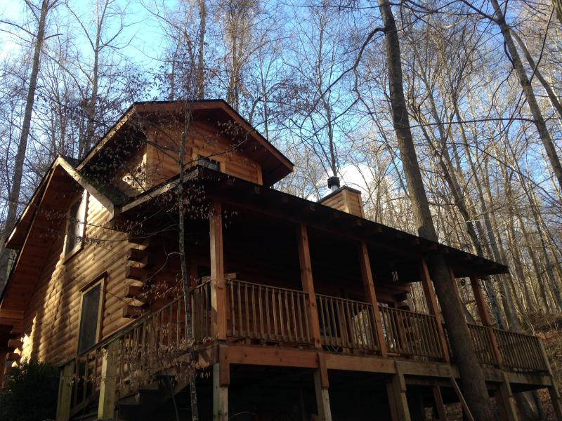 NESTLED IN THE WOODS - The Heart Center - Robbinsville - rentals