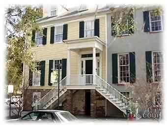 Bird Baldwin House view from Liberty Street - 1838 Bird Baldwin House Condo, (SVR-00040) - Savannah - rentals