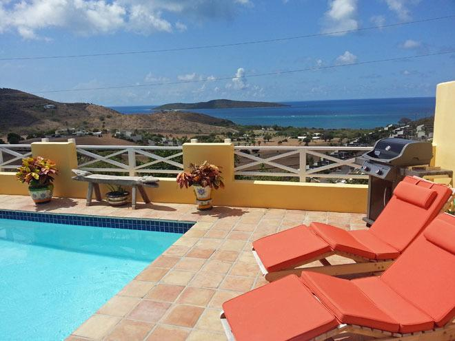 A View for Two - perfect for a couple! - A View for Two at Villa Madeleine - Christiansted - rentals