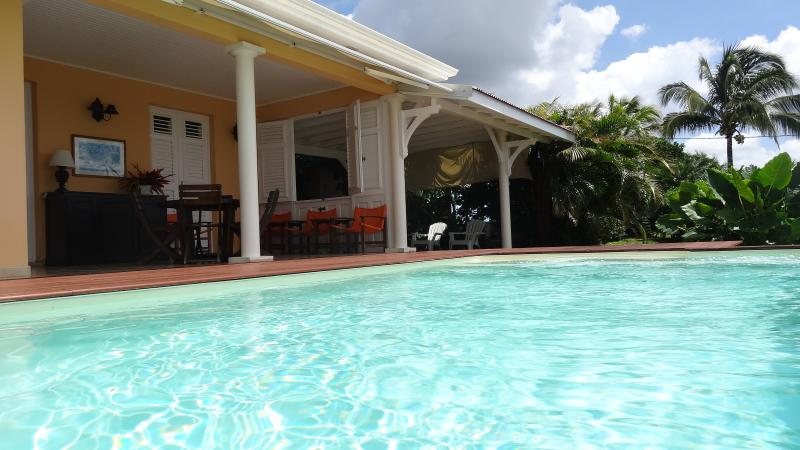 From the private and romantic pool - Romantic villa, panoramic Caribbean sea view, Pool - Saint-Pierre - rentals