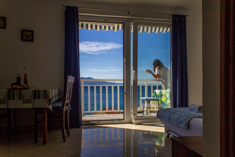 Comfort apartment, beautiful sea view - Image 1 - Brist - rentals
