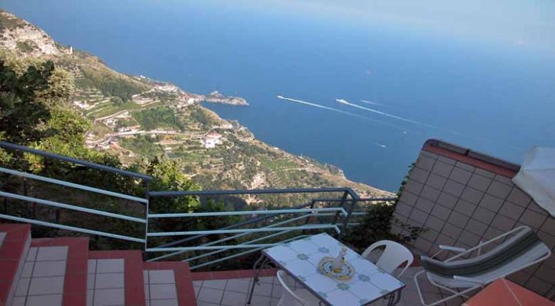 Alba terrace with sea view - ALBA - Furore - Amalfi Coast - Furore - rentals