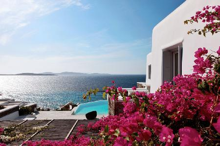 It's all in the name! Waterfront Villa Seaview Delight offers Views & Comfort - Image 1 - Mykonos Town - rentals
