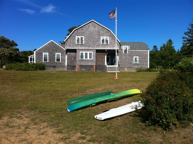 #304 Vintage Chappaquiddick Home Overlooking Katama Bay - Image 1 - Chappaquiddick - rentals