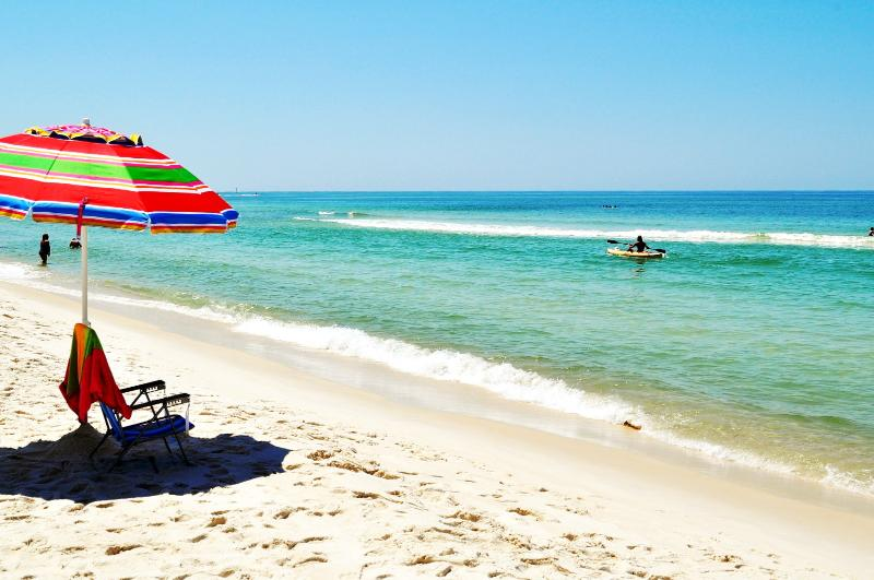 """Aqua Vista Unit 304W"" Gulf Front, Gorgeous Sunsets!! - Image 1 - Panama City Beach - rentals"