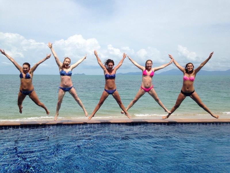 Girls just wanna have fun! - 5-bedroom Luxury Right on the Beach! - Koh Samui - rentals