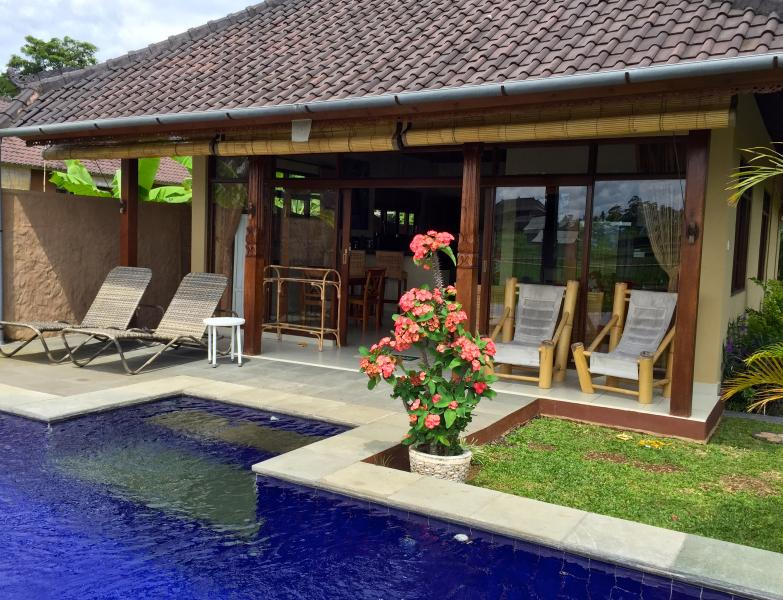 Hibiscus Cottage - Hibiscus Cottage Ubud (pool, wifi, ricefield view) - Ubud - rentals