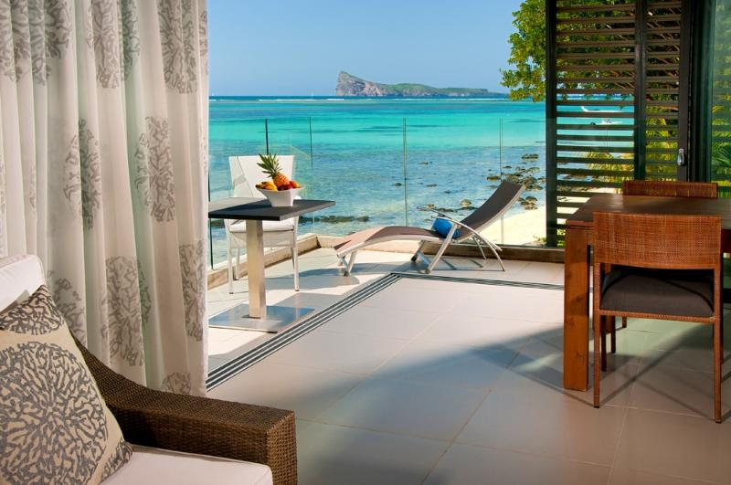 The best view of Mauritius - Amaranth 2, Ultimate Beachfront Apartment. - Belle Vue Maurel - rentals