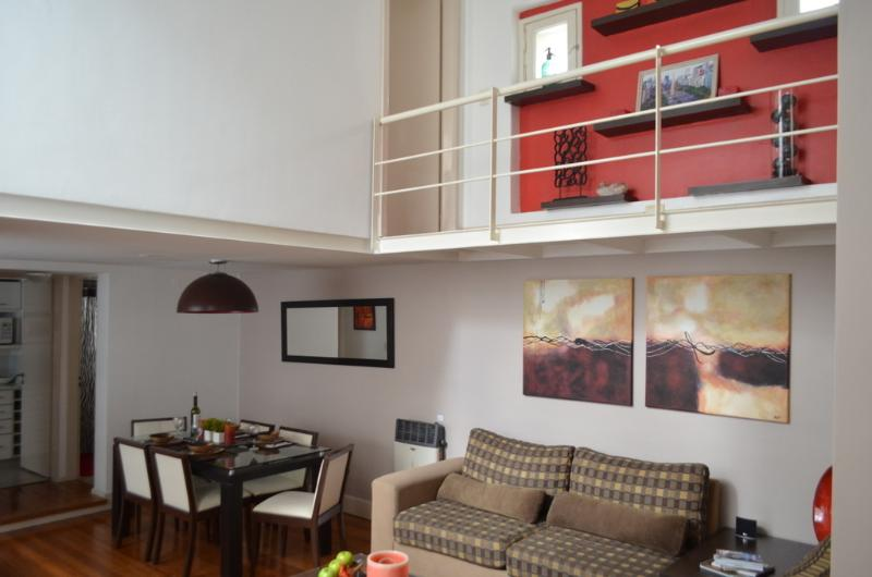 """Living / Dining - """"Palermo Soho Loft - Close to All! - Buenos Aires - rentals"""
