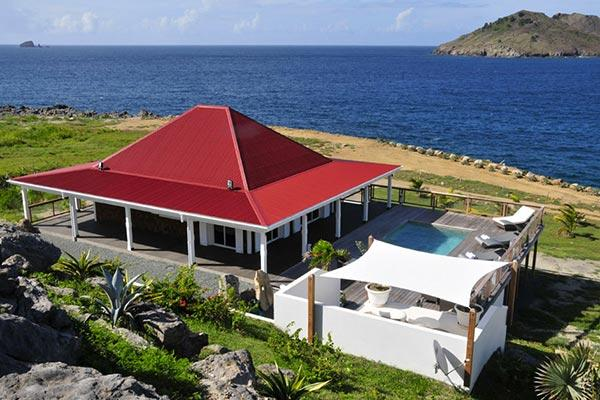 Panoramic sea views and a few steps from Flamands Beach WV KAI - Image 1 - Saint Barthelemy - rentals
