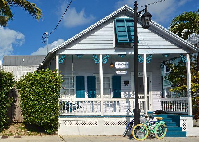 """ALMOST SOUTHERNMOST TOO"" - Private Pool - Half Block To Duval St! Sleeps 8 - Image 1 - Key West - rentals"
