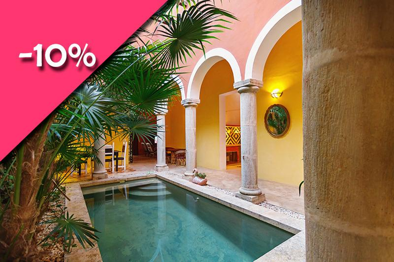 A mini-urban hacienda in the heart of Merida's boh - Image 1 - Merida - rentals