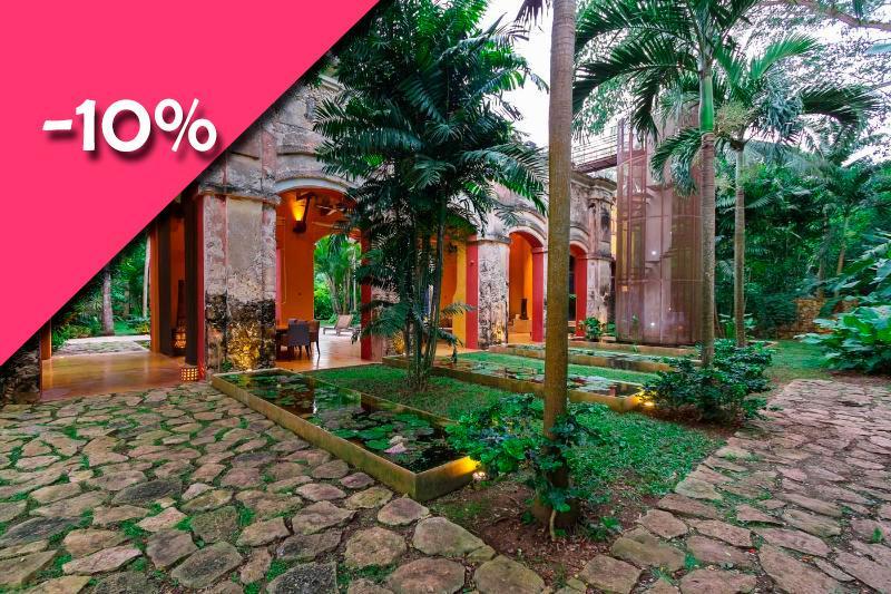 Casa Antigua at Hacienda Sac Chich - Image 1 - Acanceh - rentals