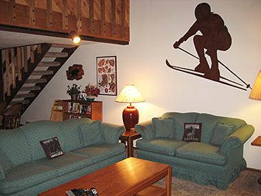 Living Room - Snowcreek - SC056 - Mammoth Lakes - rentals