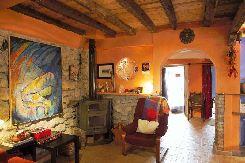 Fireplace - Lovely house on small Cantabrian coast village. - Ruiloba - rentals
