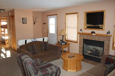 Living Room - Crystal Forest Condos - 22 - Sun Peaks - rentals
