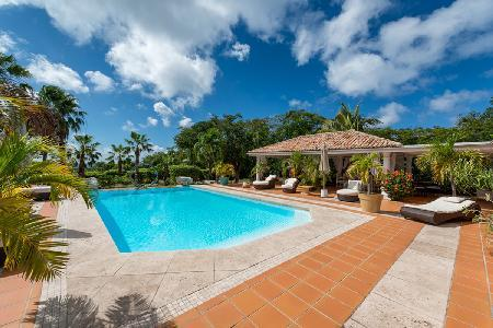 La Pinta - Spacious villa with pool, sunset views, gym room & tennis court - Image 1 - Terres Basses - rentals