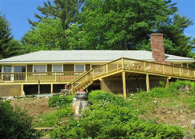 Exterior view - Excellent beach access home on Lake Winnipesaukee (SOR7B) - Meredith - rentals