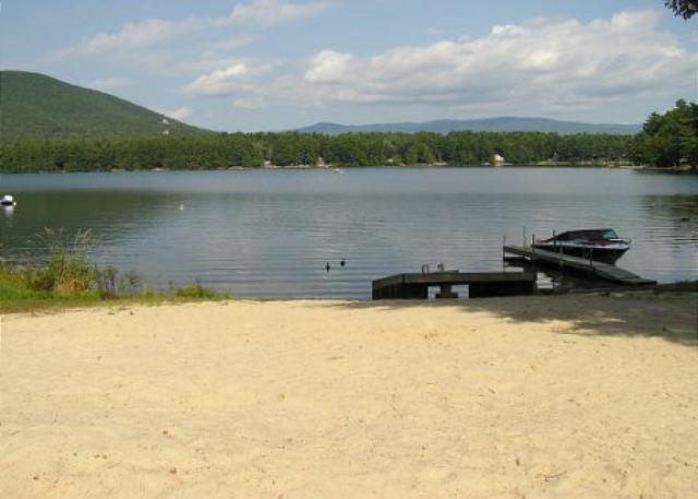Private Sandy Beach - Peaceful Vacation Rental on Small Beautiful Lake Kanasatka (STI9W) - Moultonborough - rentals
