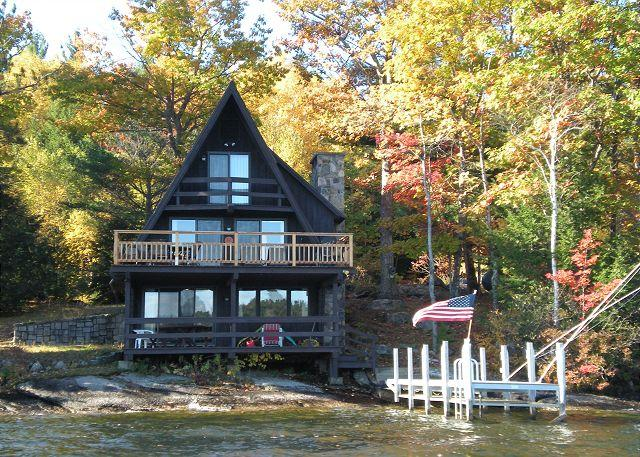 View of property from the Lake - Lovely Waterfront Vacation Rental on Lake Winnpesaukee (SLE119Wsd) - Laconia - rentals