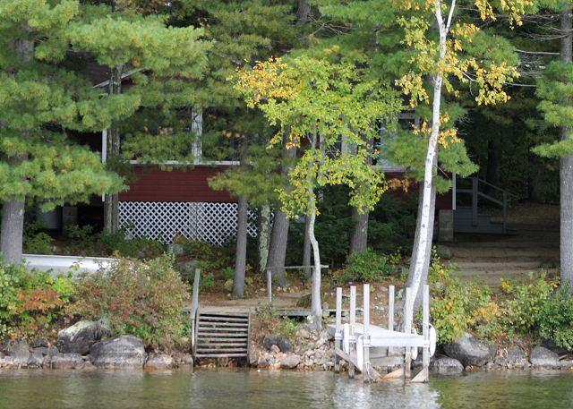 Views and Exterior - Charming Lakefront Cottage on Lake Winnipesaukee (TIM86Wf) - Moultonborough - rentals