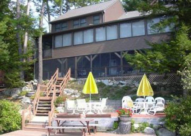Back of House - Memories are made at Lake Winnipesaukee Gem! (MUR420Wm) - Moultonborough - rentals
