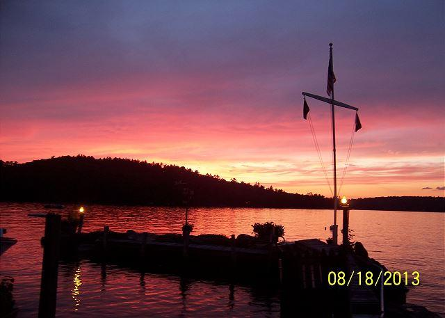 Cabin Vacation Rental on Mink Island on Lake Winnipesaukee (KNO09I) - Image 1 - Gilford - rentals