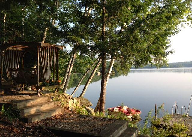 Charming Waterfront Vacation Rental on Lake Wickwas! (MAR21W) - Image 1 - Meredith - rentals